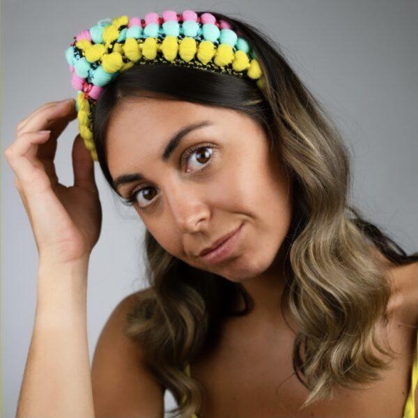 Lila Festival Turban Headband