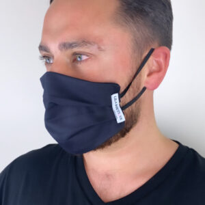 Lila Black Face Mask