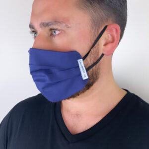 Lila Navy Face Mask
