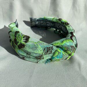 Lila Daylily Turban Headband