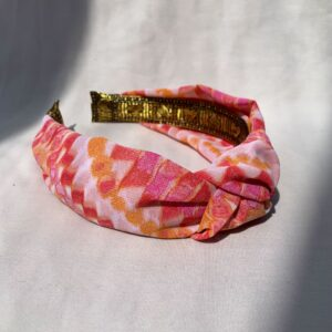 Lila Sunrise Turban Headband