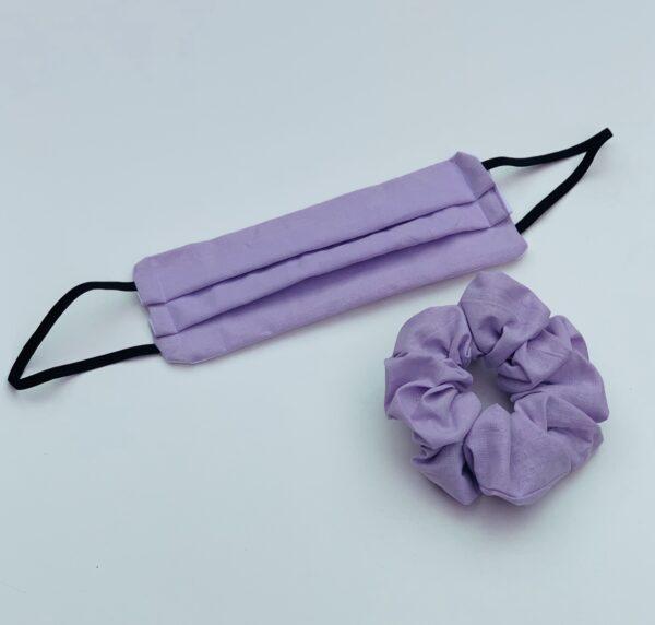 Lila Lilac Face Mask Set