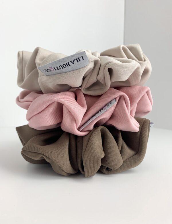Lila Bubblegum Scrunchie