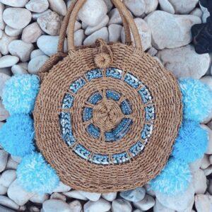 Lila Sea Breeze Beach Bag