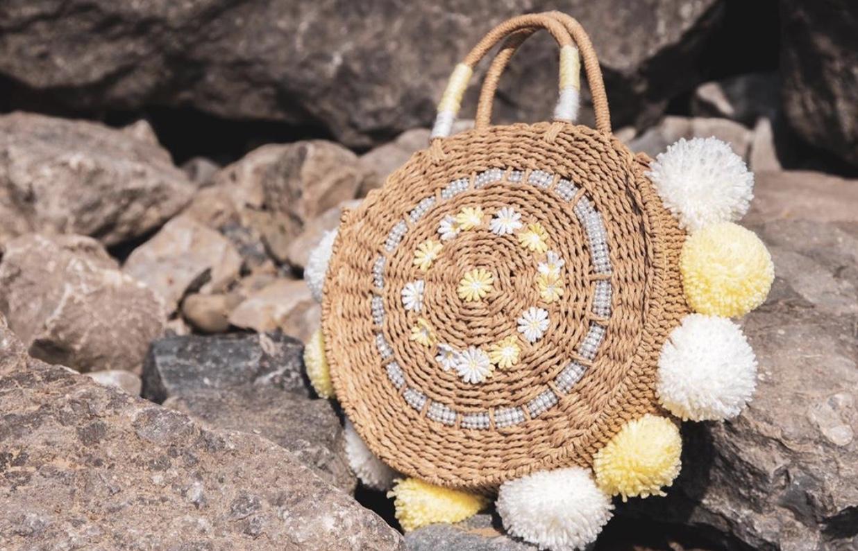 Lila Summer Beach Bag