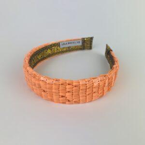 Lila Neon Orange Classic Headband