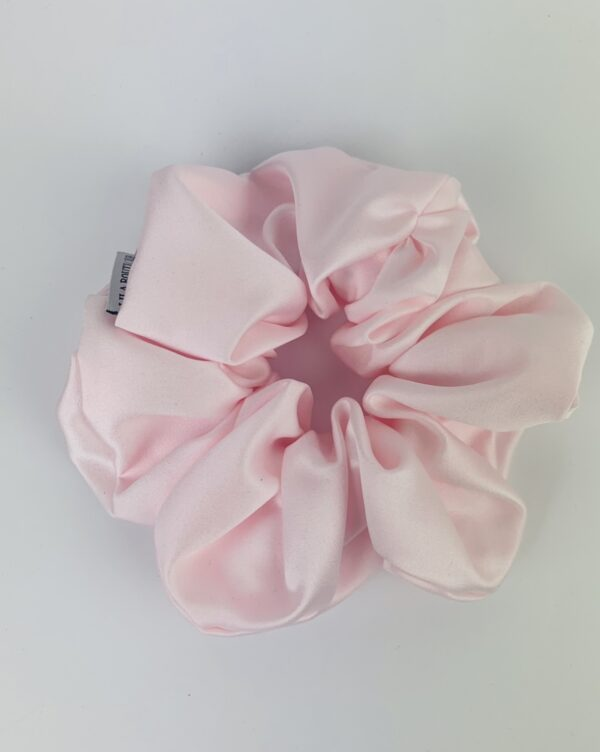 Lila Baby Pink Scrunchie