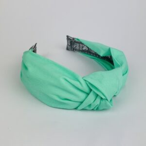 Lila Mint Turban Headband