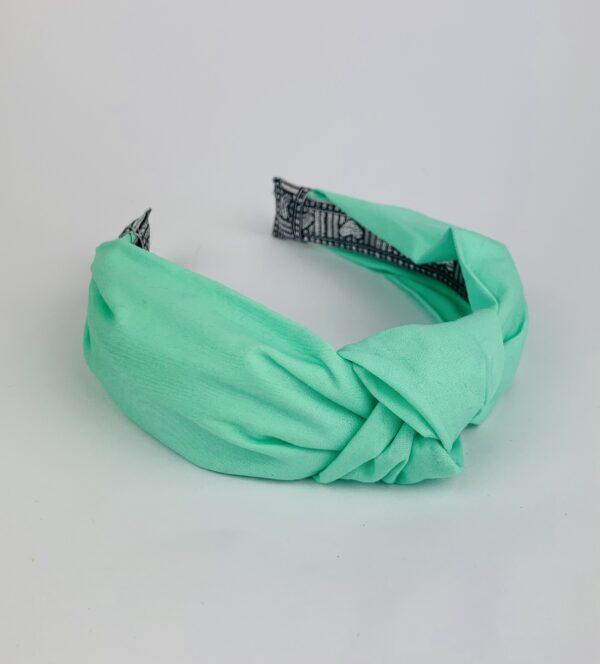 Lila Mint Turban Headband