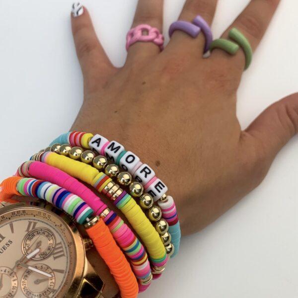 Lila Adore Bracelet Set