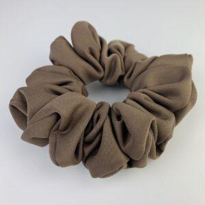 Lila Coffee Scrunchie