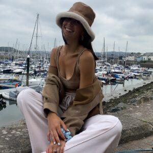 Lila Camel Bucket Hat
