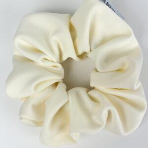 Lila Cream Scrunchie