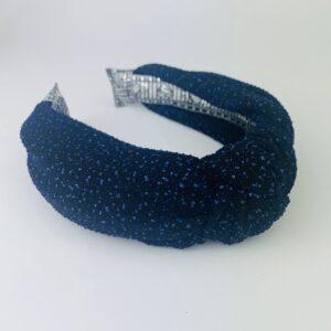 Lila Midnight Sparkle Turban Headband