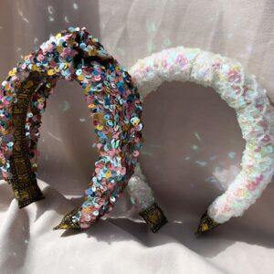 Lila Candyfloss Padded Headband