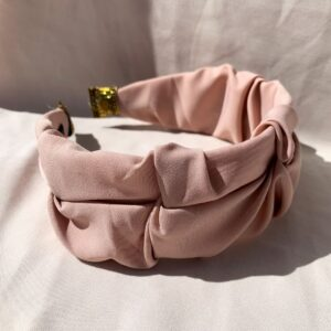 Lila Dusty Pink Twist Headband
