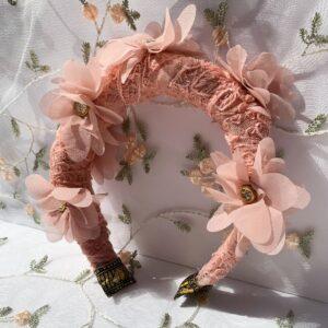Lila Azalea Padded Headband