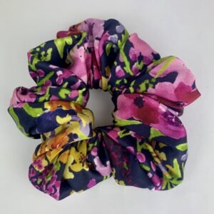Lila Purple Palm Scrunchie