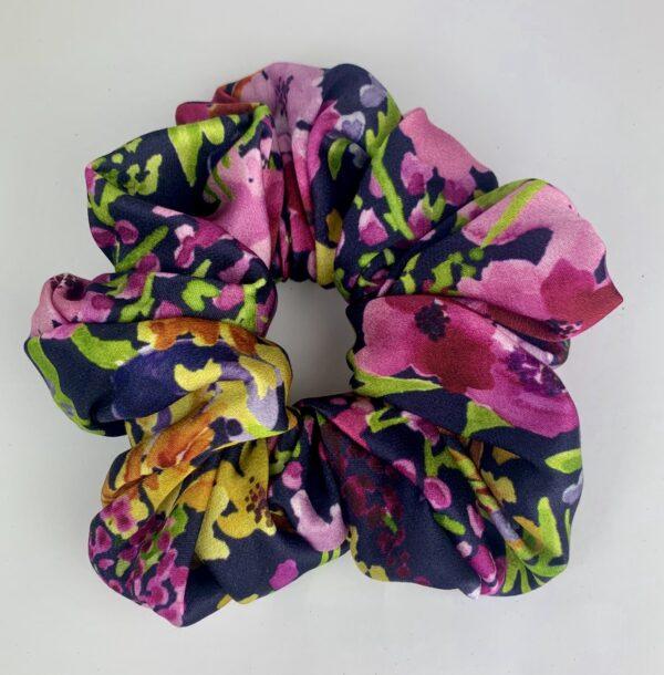 Lila Purple Palm Scrunchie