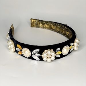 Lila Milla Pearl Jewelled Headband