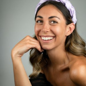 Lila Lilac Satin Plaited Headband