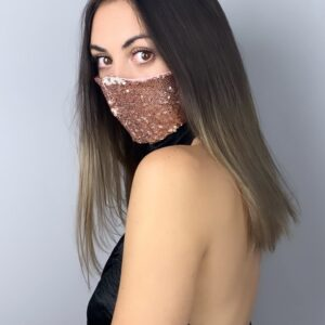 Lila Rose Sequin Face Mask
