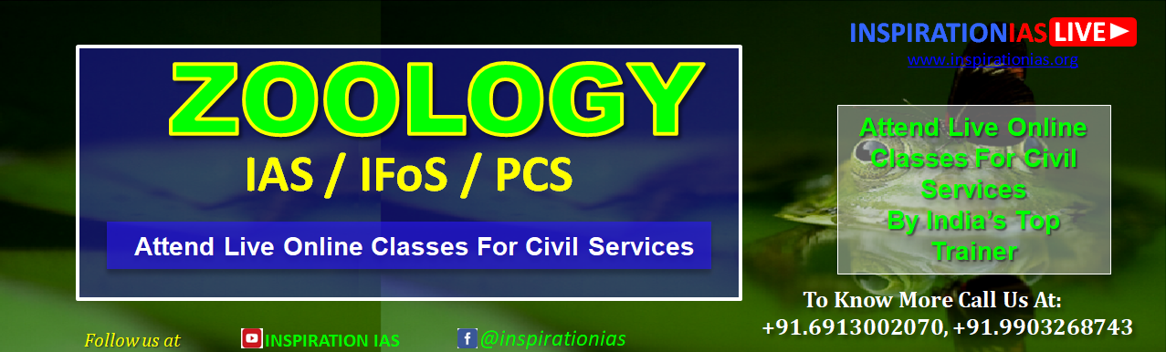 Zoology Optional (IAS/KAS/ACS/PCS)