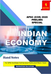 INDIAN ECONOMY APSC HANDNOTE