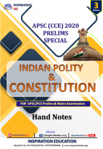 POLITY & INDIAN CONSTITUTION APSC HAND NOTE