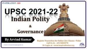 INDIAN POLITY & GOVERNANCE