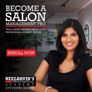Drop into our Professional Academy and we will make you fall in love with yourself. Neeldavid's Professional Academy offers courses in Salon management wherein the trainee reaps the benefit from the collective experience of our life professional team. Our comprehensive range of beauty and skin care treatments and training are carried out by friendly and professional therapists.   Our Academy aims to create a special pool of highly qualified and trained beauty experts who will be employed by some of India and World's leading salons.   To enroll, click the link on the bio or visit www.neeldavids.com  #salonmanager #salonowner #spabusiness #salonmanagement #salonlife #salon #modernsalon #salontechnology #hairstylist #beautyindustry #haircolor #makeup #hairstyle #hairdresser #beautytraining #beautyacademy #beautytraining #careertraining #beautytrainingacademy #neeldavidsprofessionalsalonacademy