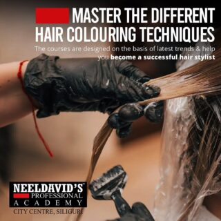 Be the best hair stylist of the town! Learn the art of hair coloring from the experts here @neeldavidsacademy.citycentre   Click on the link on bio to enroll now and to learn more on the different courses we offer!!!  #hairstyle #haircolor #style #enrollnow #learn #loreal #neeldavids #makeup #artist #admissionsopen #makeupartist