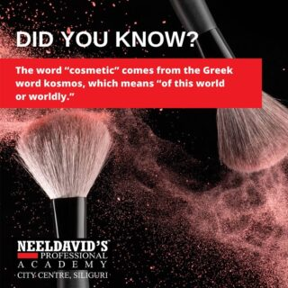 #thursdayfacts  To know more: Call us at +91 8900798877  Or visit us at : Neel David's Professional Salon Academy F Block,  F0114, 1st Floor Above State Bank of India City centre, Siliguri- 734010  #beautyschool #beauty #cosmetology #hair #cosmetologyschool #makeup #skincare #hairstylist #beautytraining #beautyacademy #cosmetolog
