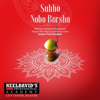 Neeldavids Professional Salon Academy wishes you all a very Happy Nabo Barsho!!  May this year brings joy,prosperity and happiness in your life.  #noboborsho #newyear #prosperity #happiness #hope #newbeginnings #bengalinewyear