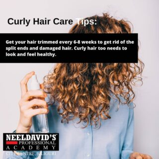 Curly hair care tips 101  We also offer professional courses in cosmetology, skin, hair, make-up.   To enroll, click the link in the bio Or visit www.neeldavids.com   To know more about us, Call at 8900798877  #beautyschool #beauty #cosmetology #hair #cosmetologyschool #makeup #skincare #hairstylist #beautytraining #beautyacademy #cosmetologist #education #makeupartist #esthetician #cosmetologystudent #mua #beautysalon #haircolor #hairstyle #behindthechair #hairdresser #hairschool #entrepreneur #balayage #makeupschool #beautycourses #stylist #beautyschoolstudent #nails #bhfyp