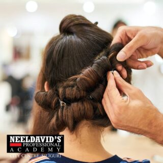 """""""Blessed are the hairstylists, for they bring out the beauty in others.""""  Get trained by experts to become a Professional hairstylist. Join Neeldavid's Professional Academy now!   To know more: Call us at +91 8900798877  Or visit us at : Neeldavid's Professional Academy F Block,  F0114, 1st Floor Above State Bank of India City centre, Siliguri- 734010  #beautyschool #beauty #cosmetology #hair #cosmetologyschool #makeup #skincare #hairstylist #beautytraining #beautyacademy #cosmetolog#haircut #hair #hairstyle #haircolor  #hairstyles #barbershop #hairstylist #fade #hairdresser #balayage #style #fashion  #beauty #hairgoals  #menshair #beard #salon #blonde #instahair #hairsalon #makeup #longhair #bhfyp"""