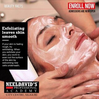 Learn amazing tips and tricks to keep your skin healthy!  Neeldavid's Professional Salon Academy offers courses in Hair, Skin,Beauty and Salon Management. Learn from our team of experts!  Click on the link on bio to Enroll with us now!!!  #salonmanagement #salonowner #hairartist #haircolor #colormanagement #saloncolorist #salon #salontechnology #hairstylist #professionalbeauty #laru #beautyindustry #salonbusiness #beautytechnology #salonmanager #haircolorist #salonlife #salonowners #beautytrainingacademy #beautytherapist #hairstylist #skincare #salonacademy #beautyschool #beautytraining #careertraining #beautyacademy #beautyschoolstudent
