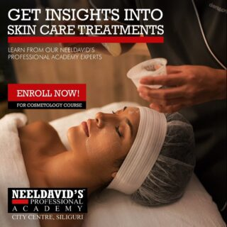 Always wanted to know the secrets to having a beautiful glowing face? Neeldavid's Professional Academy's Cosmetology course empowers you with the knowledge of skin analysis, skin science, skin function, skin preparation, skin aesthetics and more.   You will be trained under the guidance of industry experts and professionals to know about the advanced techniques and treatments using modern machines for skin care.  Are you ready to become the skin expert you wish to be? Enroll now! Visit our website www.neeldavids.com or click the link on the bio.   #skincourse #skincare #skincaretips #skincarelover #skinaesthetics #skintherapist #skinexpert #skinsalon  #salonacademy #neeldavidsprofessionalsalonacademy #siliguri #beautyexpert #beautyexperts #professional