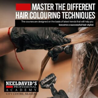 Be the best hair stylist of the town!  Learn from the professionals here @neeldavidsacademy.citycentre and master the art of hair styling.  Click on the link on bio to enroll now and to learn more on the different courses we offer!!  #hairstyles #haircolour #makeup #enrollnow #admissionsopen #lorealprofessionnel #artist