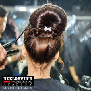 """There's just something about playing in hair that all hair enthusiasts have in common. That unexplainable desire to create somthing beautiful with hair and seeing the look on someone's face that says """"Wow, I love it!""""  At Neeldavid's Professional Academy, we share your passion. Our goal is take your love of hair and build a solid foundation of technical skills and know-how.   To know more: Call us at +91 8900798877  Or visit us at : Neel David's Professional Salon Academy F Block,  F0114, 1st Floor Above State Bank of India City centre, Siliguri- 734010  #haircut #hair #hairstyle #haircolor  #hairstyles #barbershop #hairstylist #fade  #hairdresser #balayage #style #fashion #beauty #hairgoals #salon #blonde #instahair #hairsalon  #makeup #longhair #bhfyp"""
