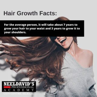 Follow @neeldavidsacademy.citycentre for more #hairfacts.  To know more about us: Call us at +91 8900798877  Or visit us at : Neel David's Professional Salon Academy F Block,  F0114, 1st Floor Above State Bank of India City centre, Siliguri- 734010  #beautyschool #beauty #cosmetology #hair #cosmetologyschool #makeup #skincare #hairstylist #beautytraining #beautyacademy #cosmetologist #education #makeupartist #esthetician #cosmetologystudent #mua #beautysalon #haircolor #hairstyle #behindthechair #hairdresser #hairschool #entrepreneur #makeupschool #beautycourses #stylist #beautyschoolstudent #bhfyp