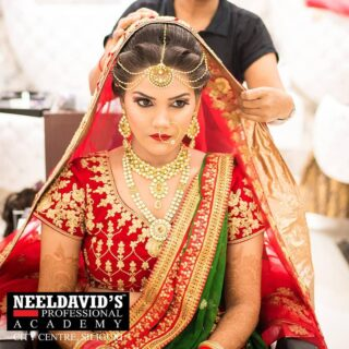 The 'flawless bridal look' starts with the kind of makeup you use. ENROLL in  Neeldavid's Professional Academy to receive expert advice on a variety of bridal makeup techniques.   Our professional mentors will teach you how to apply perfect bridal makeup. You'll also learn about the best makeup items to use and how to apply them to receive the desired look.  Get complete guidance from the industry experts and become job-ready!  To enroll, click the link on the bio  Or visit www.neeldavids.com   For more course related information, Call at +91 8900798877  #bridemakeup #bride #makeup #makeupartist #weddingmakeup #wedding #bridalmakeup #bridetobe #mua #weddingdress #weddingphotography #weddingday #bridesmaids #bridestory #weddinginspiration #bridehairstyle #beauty #weddinghair #bridal #bridestyle #makeupwedding #makeuptutorial #photography #brides #muajakarta #bridedress #bridalmakeupartist #weddingmakeupartist #makeuplover #bhfyp