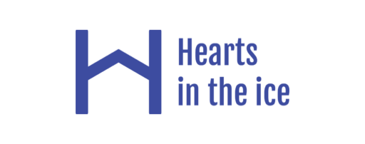 hearts in the ice logo