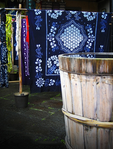 Fabrication tissu traditionnel
