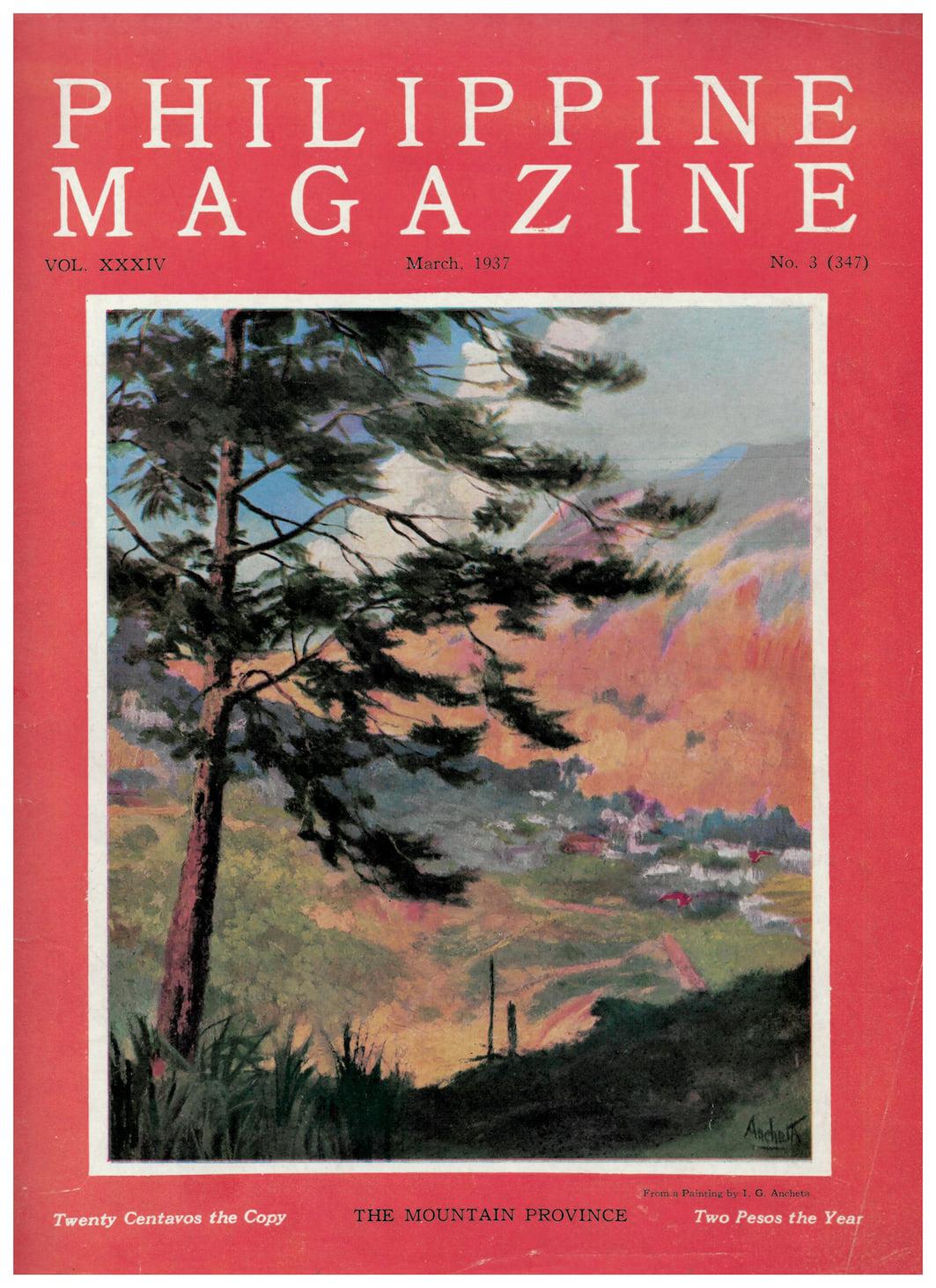 Nakita kita sa isang magasin: Philippine Magazine and how it created the Cordillera literary landscape