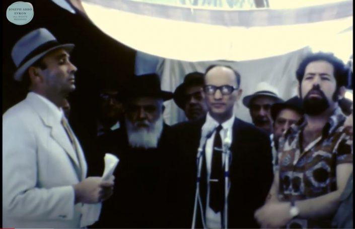 יוסף עבו עברון, הרב רפאל עבו, מאיר עברון, מאיר מיבר