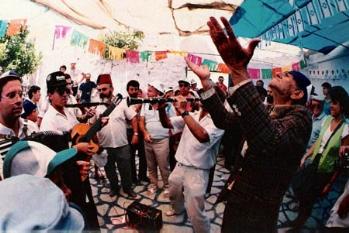 שירים וריקודים בחצר בית עבו, הקלרינטן ישראל זוהר 1989