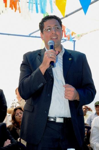 ראש עיריית צפת, מר אילן שוחט, מברך את הנוכחים, 2010