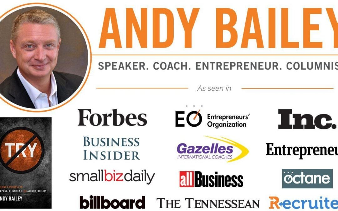 Where's the Focus?! by Andy Bailey – Speaker | Coach | Entrepreneur | Author