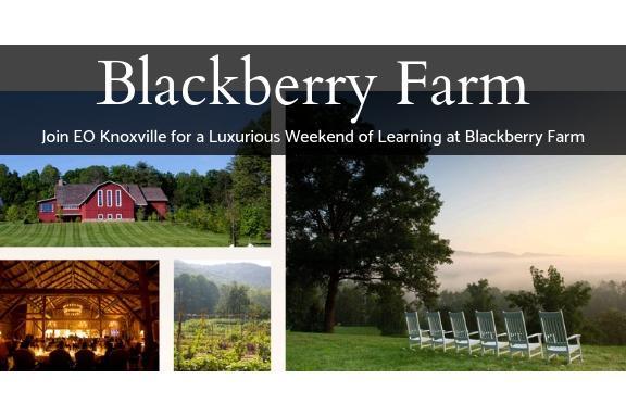 EO KNOXVILLE Couples Retreat at Blackberry Farm — Register via EO Network